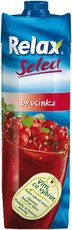 Relax Select brusinka 1l, 12ks