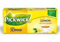 čaj Pickwick ranní Lemon, 25x1,75g